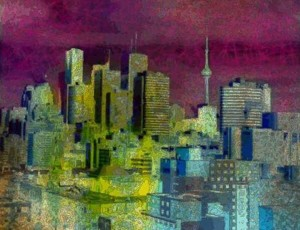 Toronto in Purple